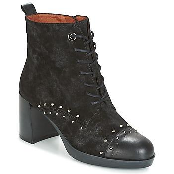 Schuhe Damen Low Boots Hispanitas DREW 17 Schwarz