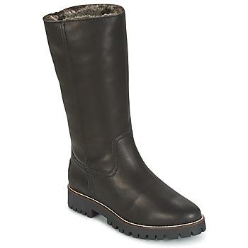 Schuhe Damen Boots Panama Jack TANIA Schwarz