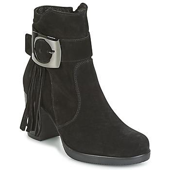 Chaussures Femme Bottines Samoa MARIEL Noir
