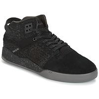 Schuhe Sneaker High Supra SKYTOP III Schwarz / Grau