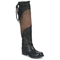 Chaussures Femme Cuissardes Airstep / A.S.98 SAINT EC PATCH Noir