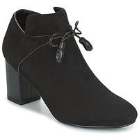 Schuhe Damen Ankle Boots Moony Mood GLAM Schwarz