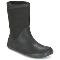 Chaussures Femme Boots Camper PEU CAMI Noir