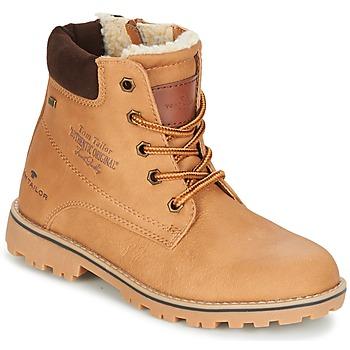 Schuhe Jungen Boots Tom Tailor JOLUI Camel