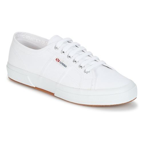 Schuhe Sneaker Low Superga 2750 CLASSIC Weiß