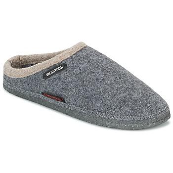 Chaussures Chaussons Giesswein DANNHEIM Gris