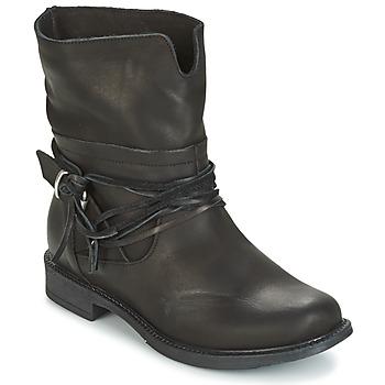 Schuhe Damen Boots Sweet Lemon PYOBA Schwarz