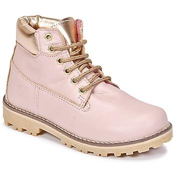Chaussures Fille Boots Citrouille et Compagnie HICHOU Rose