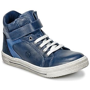 Chaussures Garçon Baskets montantes Citrouille et Compagnie HOCHOU Marine