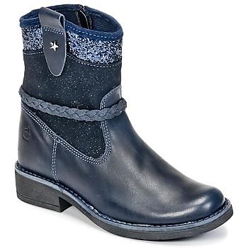 Chaussures Fille Boots Citrouille et Compagnie HAYO Bleu