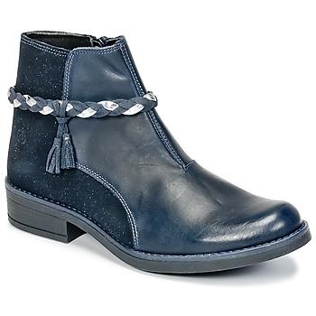 Schuhe Mädchen Boots Citrouille et Compagnie HOCEA Blau