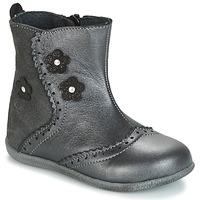 Schuhe Mädchen Boots Citrouille et Compagnie HOPETTE Grau