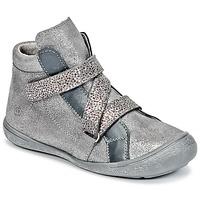 Scarpe Bambina Sneakers alte Citrouille et Compagnie HISSOU Grigio