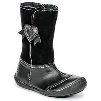 Chaussures Fille Bottes ville Citrouille et Compagnie HYDIL Noir