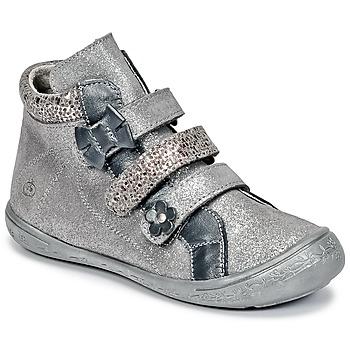 Scarpe Bambina Sneakers alte Citrouille et Compagnie FALIE Grigio
