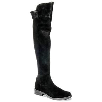 Schuhe Damen Kniestiefel Buffalo NUPAN Schwarz