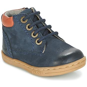 Schuhe Jungen Boots Kickers TACKLAND Marineblau