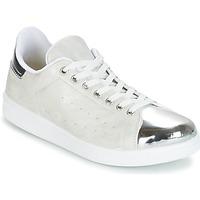 Chaussures Femme Baskets basses Yurban HETTANE Gris / Argenté