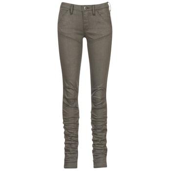 Abbigliamento Donna Jeans skynny G-Star Raw 5620 STAQ 3D MID SKINNY COJ WMN Kaki