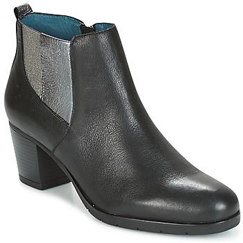 Schuhe Damen Low Boots Karston GADJO Schwarz