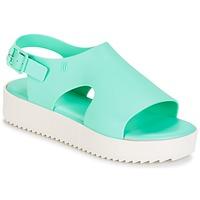 Schuhe Damen Sandalen / Sandaletten Melissa HOTNESS Grün / Weiss