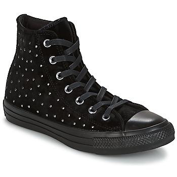 Scarpe Donna Sneakers alte Converse CHUCK TAYLOR ALL STAR HI Nero