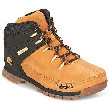 Schuhe Kinder Boots Timberland EURO SPRINT Braun