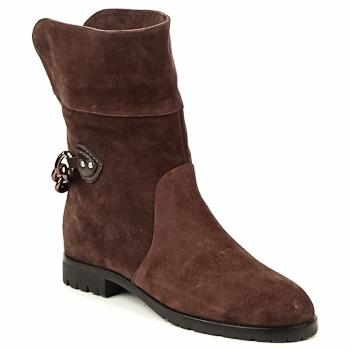 Schuhe Damen Boots Marc Jacobs CHAIN BOOTS Braun,