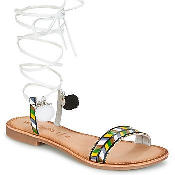 Chaussures Femme Sandales et Nu-pieds Lola Espeleta EDWINA Vert / Argenté