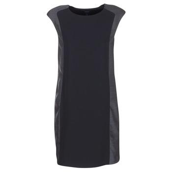 Kleidung Damen Kurze Kleider Armani jeans LAMIC Schwarz / Grau