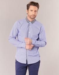 Abbigliamento Uomo Camicie maniche lunghe Scotch & Soda JILLA Blu