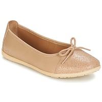 Schuhe Mädchen Ballerinas Kickers EDANA Beige