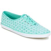 Schuhe Damen Sneaker Low Keds CH EYELET Blau