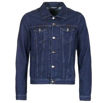 Abbigliamento Uomo Giacche in jeans Yurban IHEDEM Blu