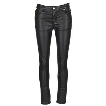 Kleidung Damen 5-Pocket-Hosen Moony Mood HENDUI Schwarz