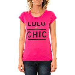 Vêtements Femme T-shirts manches courtes LuluCastagnette T-shirt Chicos Rose Rose