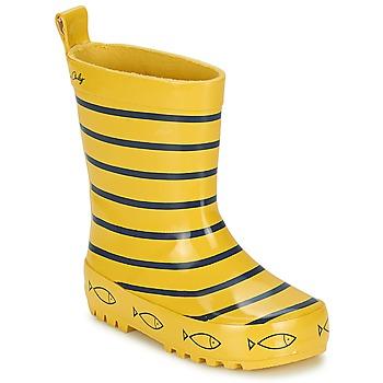 Chaussures Enfant Bottes de pluie Be Only TIMOUSS Jaune / Bleu
