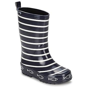 Chaussures Enfant Bottes de pluie Be Only TIMOUSS Marine