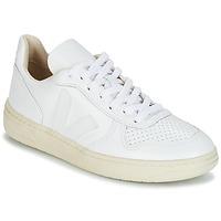 Chaussures Baskets basses Veja V-10 Blanc