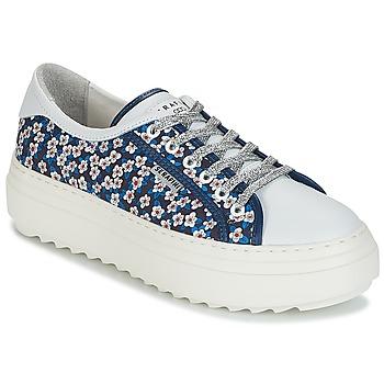 Chaussures Femme Baskets basses Serafini SOHO Bleu