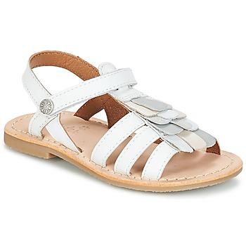 Chaussures Fille Sandales et Nu-pieds Aster CORELLE Blanc