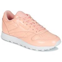 Schuhe Damen Sneaker Low Reebok Classic CLASSIC LEATHER PATENT Rose