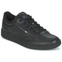 Schuhe Sneaker Low Reebok Classic CLUB C 85 Schwarz