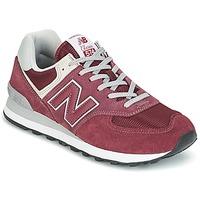Schuhe Sneaker Low New Balance ML574 Bordeaux