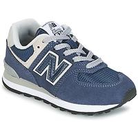 Schuhe Kinder Sneaker Low New Balance 574 Marine