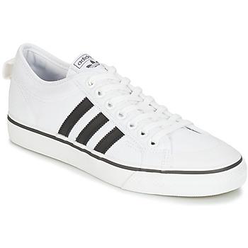 Chaussures Baskets basses adidas Originals NIZZA Blanc