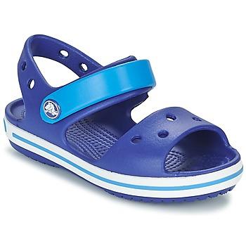 Schuhe Jungen Sandalen / Sandaletten Crocs CROCBAND SANDAL KIDS Blau