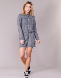 Kleidung Damen Overalls / Latzhosen Deeluxe WEAVY Grau