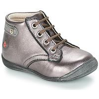 Chaussures Fille Boots GBB NICOLE Violet métalisé