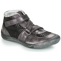 Scarpe Bambina Sneakers alte GBB RIQUETTE Nero / Argento